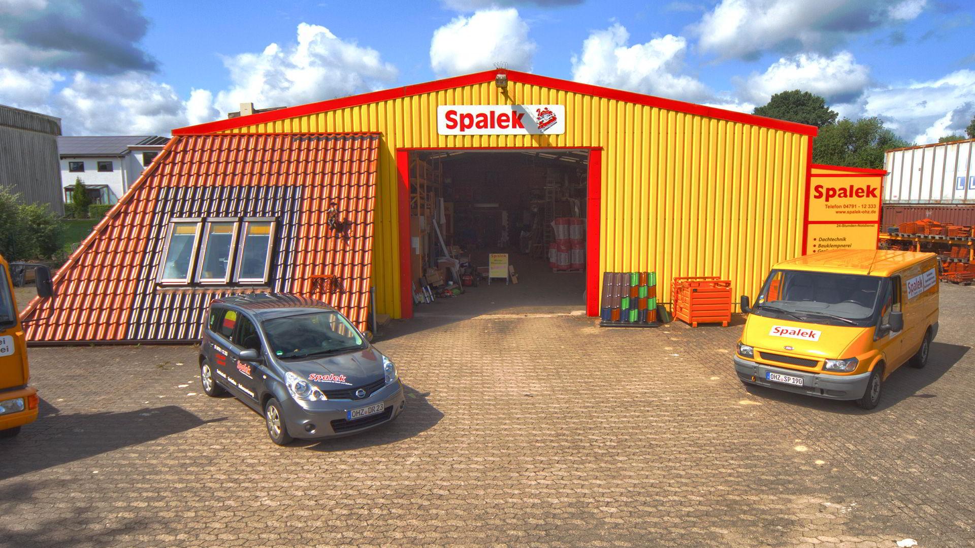 Gebäude Dachdecker Spalek 1920x1080px | Dachdeckerei Spalek OHZ